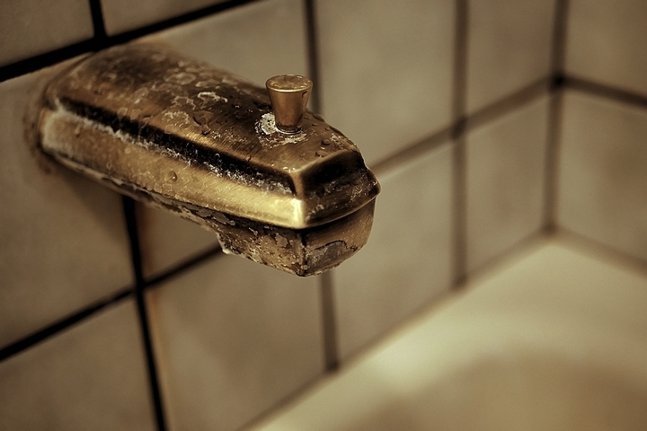 There are aged plumbing problems in old homes.