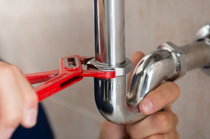 Make sure there is no hot water leak.