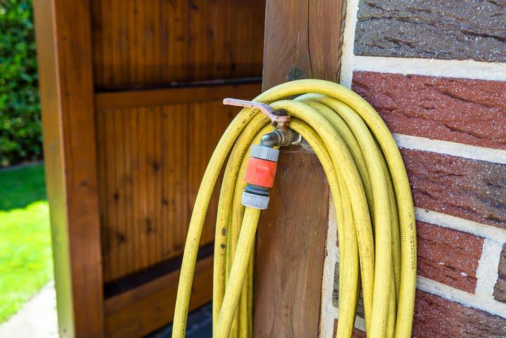 Disconnect your garden hose