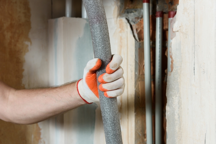 Improve the insulation of your pipes