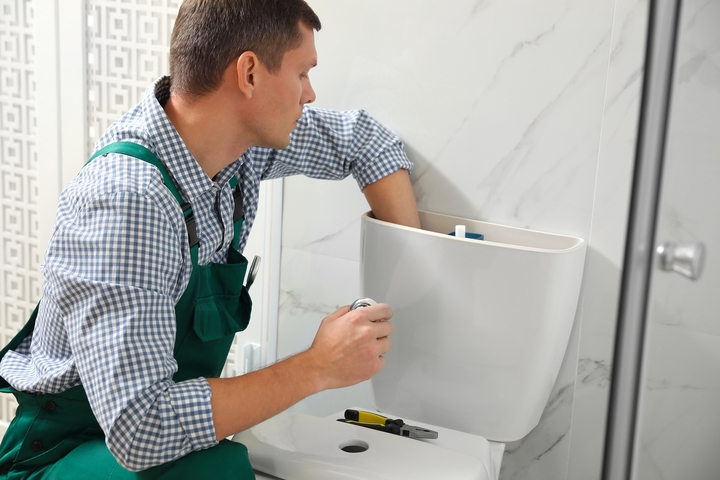 Fix the toilet flapper