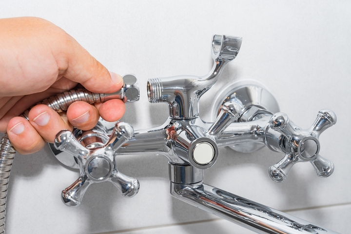 Replace the in-wall faucet valve