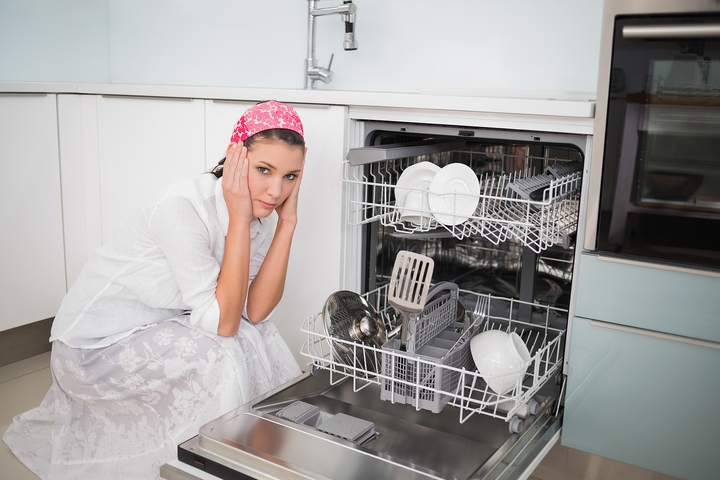 A noisy appliance is a sign of having high water pressure in your house.